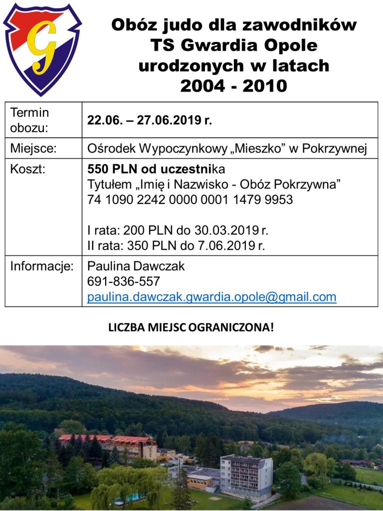 Obóz 2019 Pokrzywna