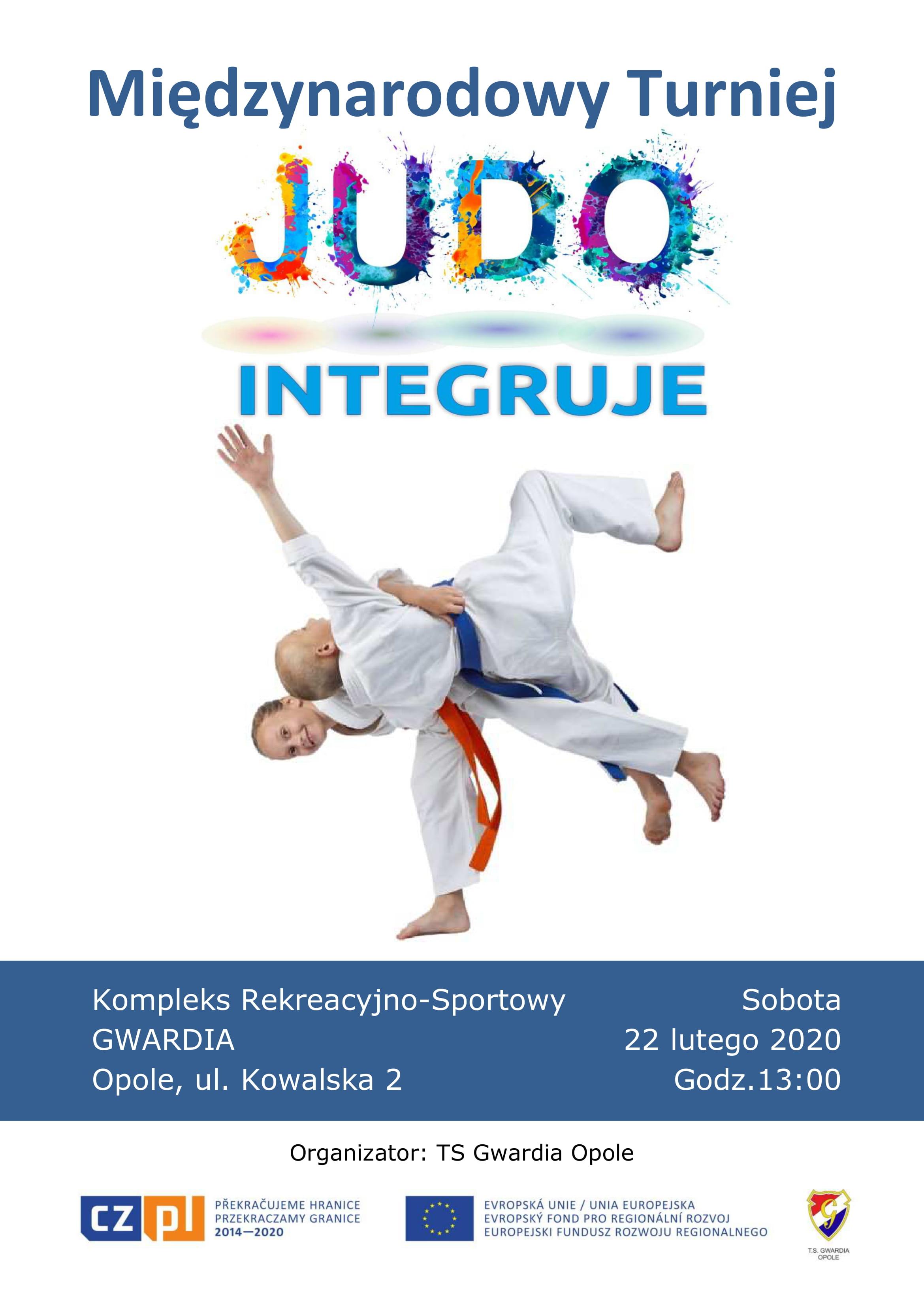 PLAKAT A3 MT Judo Integruje CZ-PL2014-2020x-1