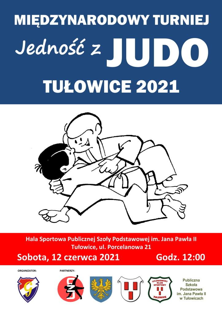 plakat judo tułowice 2021